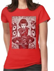Internet Girl Womens Fitted T-Shirt