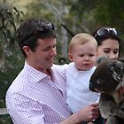 Prince Frederick and Prince Christian with Princess Mary in Tasmania by Mark Ashton