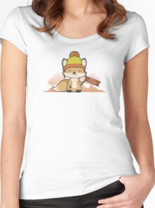 Pretty Cunning Women's Fitted Scoop T-Shirt