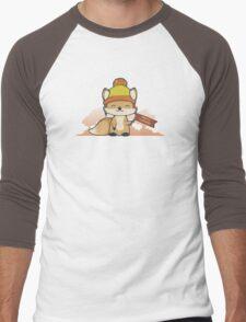 Pretty Cunning Men's Baseball ¾ T-Shirt