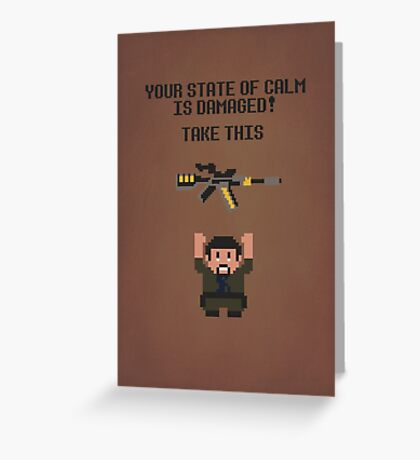 The Legend of Vera Greeting Card