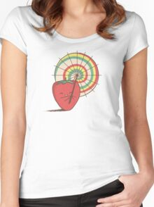 Strawberry Frye Women's Fitted Scoop T-Shirt
