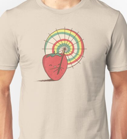 Strawberry Frye Unisex T-Shirt