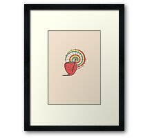 Strawberry Frye Framed Print
