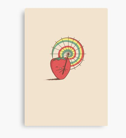 Strawberry Frye Canvas Print