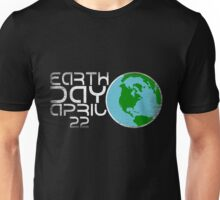 Earth Day April 22 Grunge Look Unisex T-Shirt