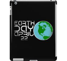 Earth Day April 22 Grunge Look iPad Case/Skin