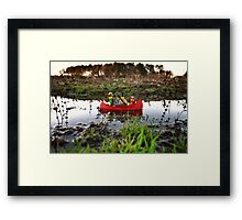 A river to the sea? Framed Print