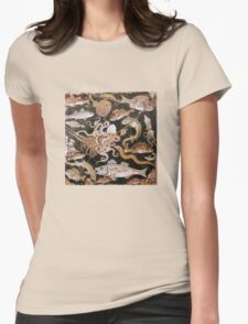 POMPEII COLLECTION / OCEAN - SEA LIFE SCENE Womens Fitted T-Shirt