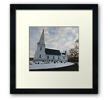 Reverent Sky Framed Print