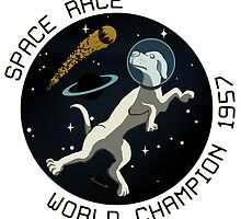 Space Race World Champion 1957 by wo0ze