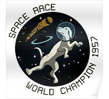Space Race World Champion 1957 Poster