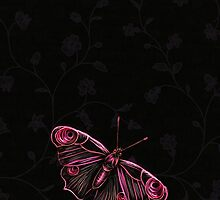 Butterfly pink by Dominika Aniola