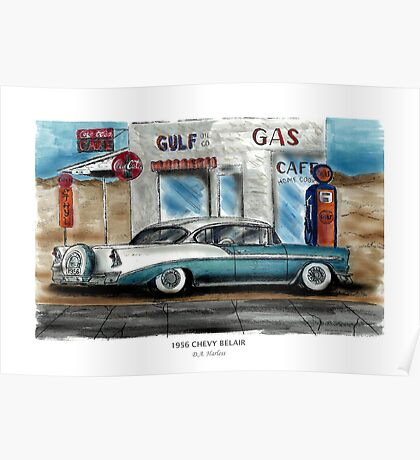 1956 CHEVY BELAIR Poster