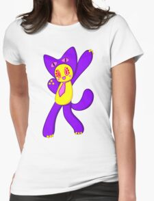 Mog - Super Puzzle Bobble Womens Fitted T-Shirt