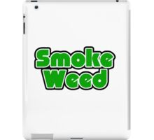 Smoke Weed - Sleep Logo iPad Case/Skin