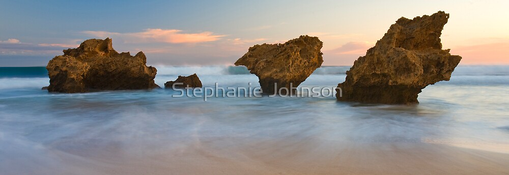Evening tide by Stephanie Johnson