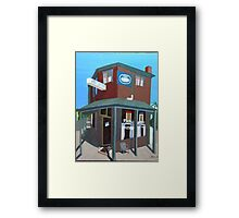 Newry Street Milk Bar Framed Print