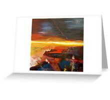 Morning Mystery Greeting Card