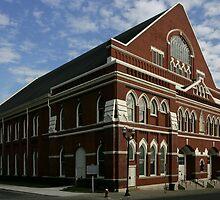Ryman Auditorium by J. Scott Coile