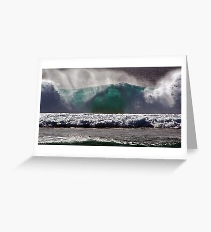 Pacific Blue Greeting Card