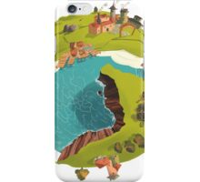 Planet Town iPhone Case/Skin