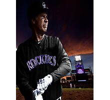 Will Ferrell Colorado Rockies Photographic Print