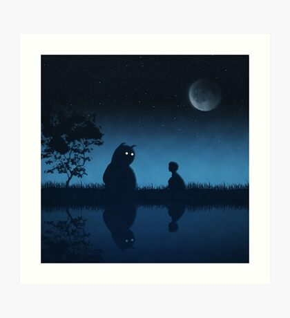 The Friend of the Night Art Print