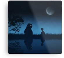 The Friend of the Night Metal Print