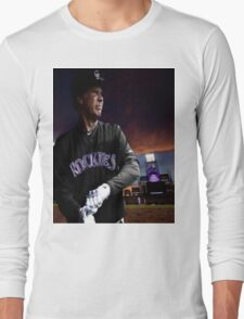 Will Ferrell Colorado Rockies Long Sleeve T-Shirt
