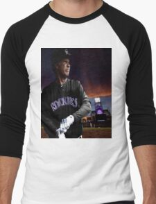 Will Ferrell Colorado Rockies Men's Baseball ¾ T-Shirt