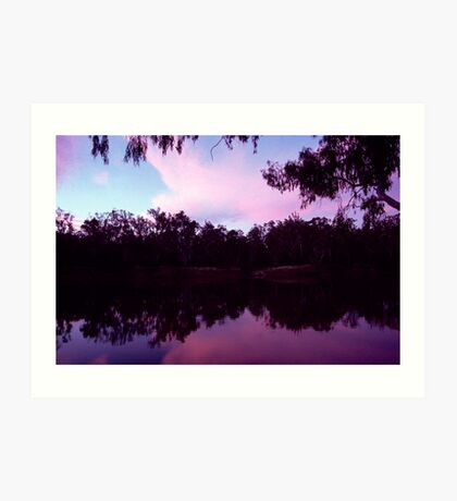 Murray River Art Print