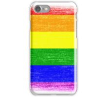 Grunge Rainbow Diversity Flag iPhone Case/Skin