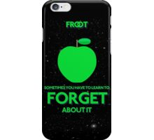 FORGET iPhone Case/Skin