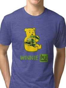 Winnie Plutonium Tri-blend T-Shirt