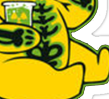 Winnie Plutonium Sticker