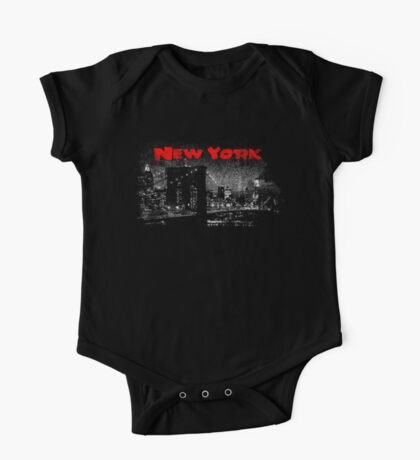 New York One Piece - Short Sleeve