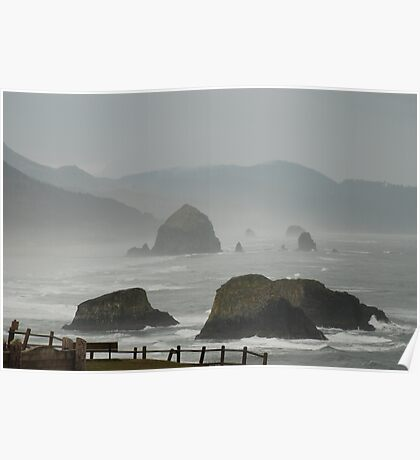 Another View From Ecola State Park Poster