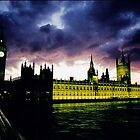 Purple Big Ben by alanbrito