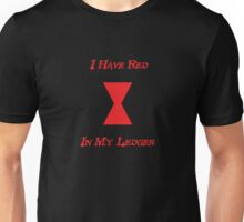 Red in My Ledger Unisex T-Shirt