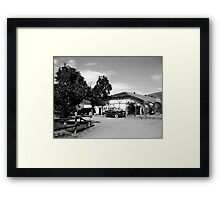 okanagan winery Framed Print