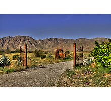 Unwelcome entry Photographic Print