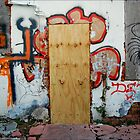 Busted Door by alanbrito