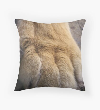 Large Cat 006 Throw Pillow
