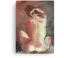 NUDE IN RED LIGHT(C2007) Canvas Print