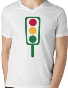 Traffic light Mens V-Neck T-Shirt