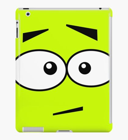 Faces, Ops! iPad Case/Skin