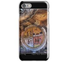 Grand Canyon Tower Abstract No 2 Open Edition Poster iPhone Case/Skin
