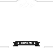 Gradius - Retro White Clean Sticker