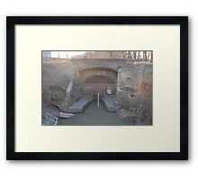 The Water Gate Framed Print